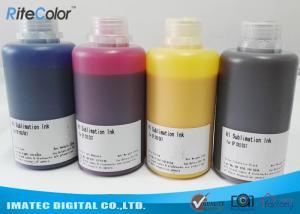 China High Density Heat Transfer Dye Sublimation Ink 250ml / 500ml / 1000ml bottles on sale