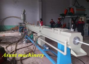 China PERT / PE Pipe Production Line Single Screw Extruder 60-100kg/H on sale