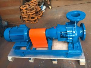 China IJ Series Singe Stage Centrifugal Chemical Pumps 1450rpm Speed Corrosion Resistant on sale