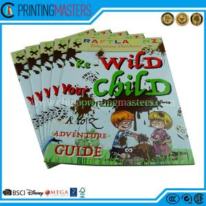 China High Quality Saddle Stitched CMYK Story Book Printing Children Book Customized Production on sale