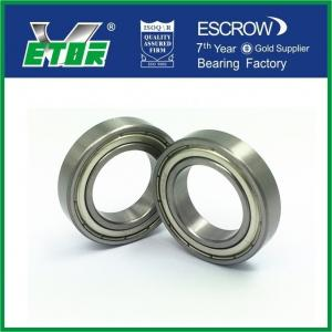 China Standard precision normal tolerance metric 6900-6910 deep groove ball bearing on sale