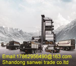 China 180T Automatic Portable Asphalt Mixing Plant 1080m2 3000KG / Batch DLB-3000 on sale