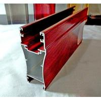 Aluminium profile for sliding doors Red wooden grain color high quality with cheap price