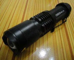 China 1AA alluminous alloy high power portable led flashlight on sale