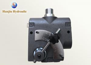 China LKF60 Hydraulic Pressure Adjustable Flow Control Valve 60L/min on sale