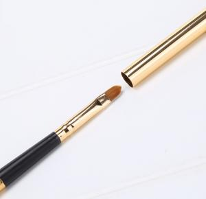 China Single Long Retractable Lip Brush Plastic Handle Material 17.2 CM Total Length on sale