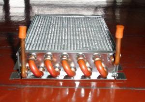 China L'OEM cuivrent le radiateur de climatiseur de tube d'aileron pour des dispositifs de transport de véhicule/navire on sale