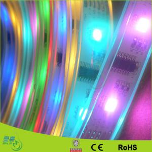 China Flexible 12v LED Ribbon Strip Lights Warm White , Rgb Led Tape Light For Kitchen on sale