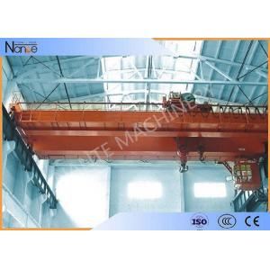 China LH10t-20m Custom Electric Traveling  Double Girder Overhead Cranes For Machine Shops on sale