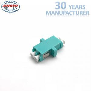 China LC Duplex Singlemode OM3 Optical Fiber Adaptors For Fiber Distribution Box on sale