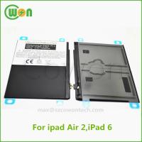 3.7V 7340mAh polymer replacement battery for iPad air 2 battery for iPad 6 battery A1547 A1566 A1567 MH332LL/A MH2V2LL/A