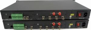 China Multifunctional broadcast 3G-SDI fiber optic transmitter-BIDI SDI +RS485/RS232/RS422 data+Audio+ 10/100M Ethernet etc on sale