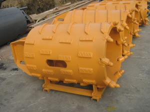 China Pile Augers Buckets Tools Core Barrel with Solid Steel Bullet Tooth Wear Resistant on sale