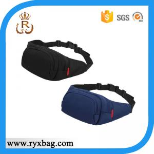 China Men's polyester sports waist bag on sale