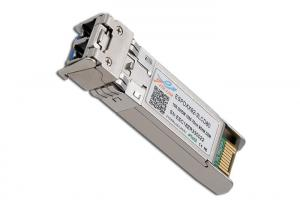 China 10G DWDM SFP+ Transceivers , Fiber Optic Transceiver Module ITU Grid C Band on sale