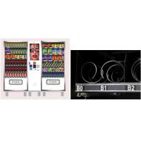Two Cabinet combination Large Vending Machine for School Airport Outside
