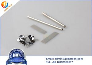China High Purity Platinum Plate , Pt213 ~ Pt262 Platinum Sheet For Indicator Electrode on sale
