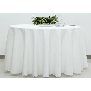 China Home Dining Room Linen Table Cloths Covers , Wedding Linen Like Tablecloths on sale
