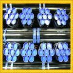 Tubulação de aço revestida plástica