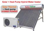 155 - 310 L Capacity Solar Heat Pump Water Heater Stainless Steel Tank Material