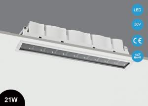 China 21W IP44 Modern Design Recessed Multi - head  LED Ceiling Light Fixture on sale