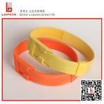 Colorful Plastic Orange Neck Collars For Cows Animal Identification Livestock Tracking
