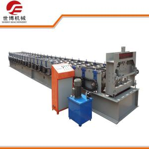 China Galvanized Steel Floor Deck Roll Forming Machine With Hydraulic Uncoiler Machine on sale