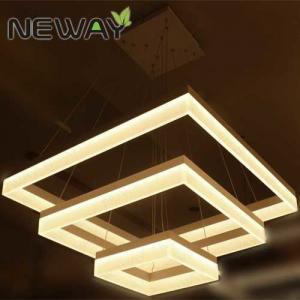 square acrylic modern led pendant lamps luminarie 800x800 600x600