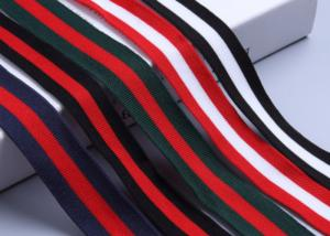 China Striped Custom Present Wrapping Accessories 25mm - 50mm Printed Grosgrain Ribbon on sale