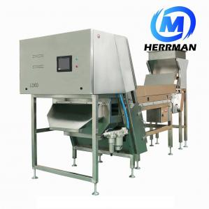 China Industrial Ccd Camera Rice Color Sorter Machine , Automatic Ccd Color Sorter For PET Flakes on sale