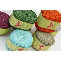 Bamboo yarn for knitting or weaving usage