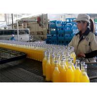 China Automatic Fruit Processing Line , Plastic Bottle Hot Filling Machine on sale