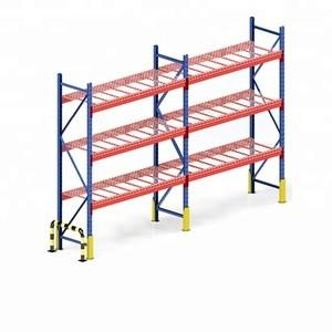 China Q235 Steel Warehouse Rack System , Heavy Metal Storage Shelves on sale