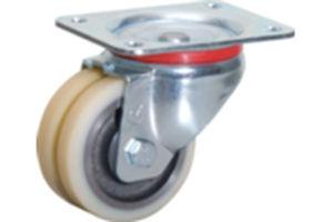 China 50mm White PP Swivel Caster on sale