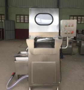 China 5.1kw Power Source Meat Brine Injector Machine 0.45 - 0.9Mpa Injection Pressure on sale