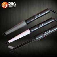China Collection Digital Ceramic/Titanium hair curlers magic leverage on sale