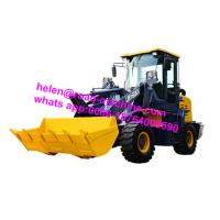China Mini Small 2200mm Wheelbase 1.6ton 0.9m3 LW160KV Compact Wheel Loader With Snow Plough on sale