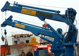 China Marine Hydraulic Telescopic Boom Crane With Advanced Components on sale