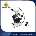 6ème type lentille de bras d'oscillation de génération du microscope F06 F08 Trinocular de gemme