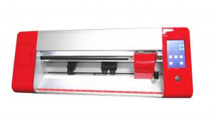 China Red 450mm 18 Inch Steel Thorn Roller Mini Vinyl Cutting Plotter on sale