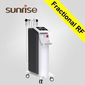 China CE ISO approval cpt skin rejuvenation machine / microneedle rf / fraction rf microneedle on sale