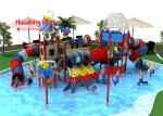 Funny Large Water Theme Park Equipment Cad Instruction Security - Oriented