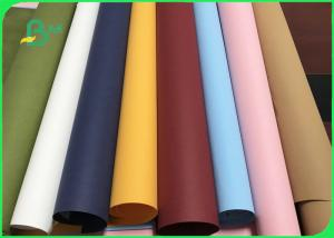 China Washable and Recycle Colorful Leather Paper Roll For Fruit Storage Bag on sale