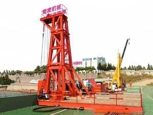 China Anti Shock Structure Rock Drilling Rig For Oceaneering Prospecting Drill on sale