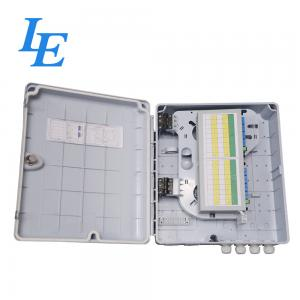 China 32 Ports Fibre Optic Cable Termination Boxes , Waterproof Distribution Box For FTTX on sale