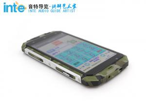 China A9 Android Intelligent 3 - Proof Audio Tour Devices For GPS / Q Rcode Guide on sale