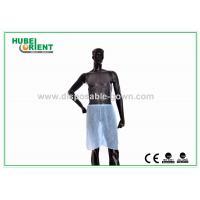 Dustproof PP Hospital Disposable Pants Short Sauna Pants Blue