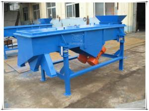 China DZSF-530-2P carbon powder linear vibrating filter screen machine on sale