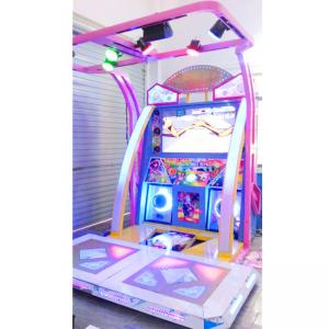 China Two players dancing game nice music and high definitiaon LCD arcade game machine Master Dancer(55) on sale