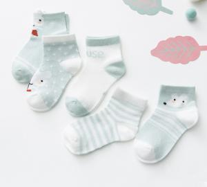 China Cartoon Animals Newborn Baby Socks Children Cotton Socks Ankle Socks For Toddlers on sale